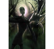 Him (the Slender Man) Photographic Print