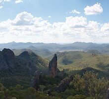 Warrumbungle Mountains from the Grand High Tops by Paul Bech