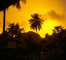 Sunset - Ko Phi Phi by thecaswell