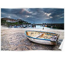 Cornwall - New Quay Harbour Poster