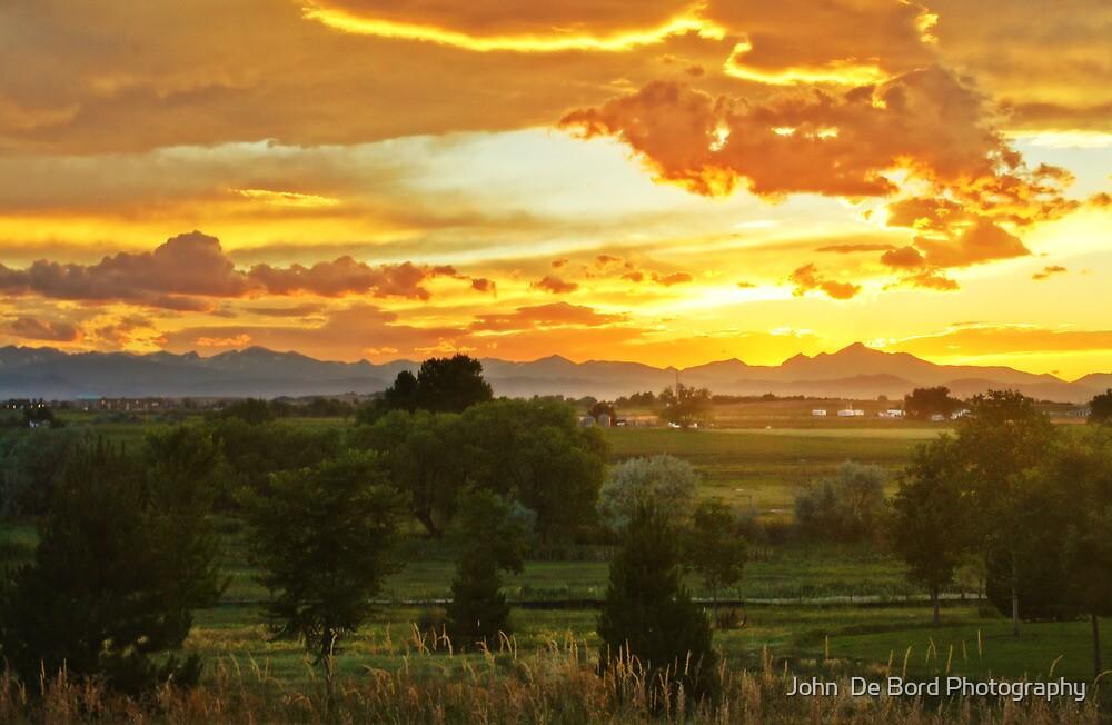 Glow Of The Colorado Countryside by John  De Bord Photography