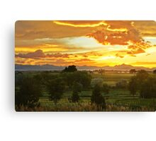 Glow Of The Colorado Countryside Canvas Print