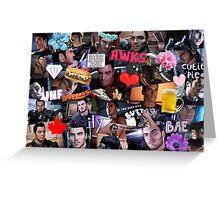 Kaidan Alenko Collage Print Greeting Card