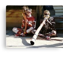 Native Australians Canvas Print