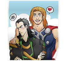Thor Loki Poster