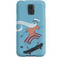 The Ancient Skater, Forever Skate ukiyo e style Samsung Galaxy Case/Skin