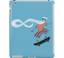 The Ancient Skater, Forever Skate ukiyo e style iPad Case/Skin