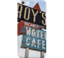 Roy's Cafe iPhone Case/Skin