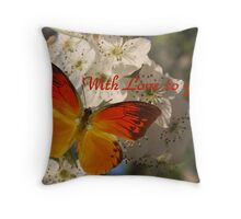 With love to you... Throw Pillow