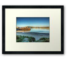 Douglas Quay - Alderney Framed Print