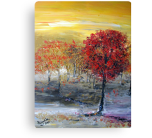 For the love of trees.... Canvas Print