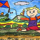 Go Fly A Kite by Monica Engeler
