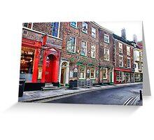 York Street Greeting Card