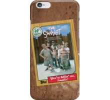 The Sandlot Movie Poster Card iPhone Case/Skin