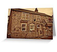 Tea Shop & Village Stores Muker #2 Greeting Card