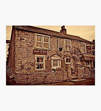 Tea Shop & Village Stores Muker #2 Photographic Print