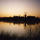 alton water dusk by uncleblack