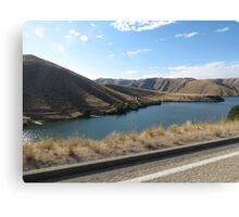 Lucky Peak, Idaho..Famous boating and summer fun place. AS IS Canvas Print