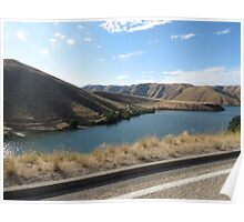 Lucky Peak, Idaho..Famous boating and summer fun place. AS IS Poster