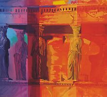 Coloured Caryatids by Jane Saunders