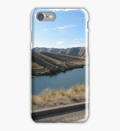 Lucky Peak, Idaho..Famous boating and summer fun place. AS IS iPhone Case/Skin
