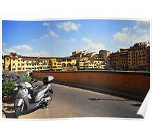 The Way to Ponte Vecchio Poster