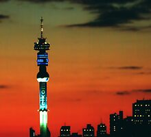 Hillbrow Tower by JandeBeer