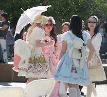 Kawaii Girls by Tomoe Nakamura