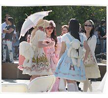 Kawaii Girls Poster