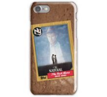The Natural Movie Poster Card iPhone Case/Skin