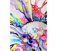 Infinite Flare - Watercolor Painting Photographic Print