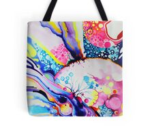 Infinite Flare - Watercolor Painting Tote Bag