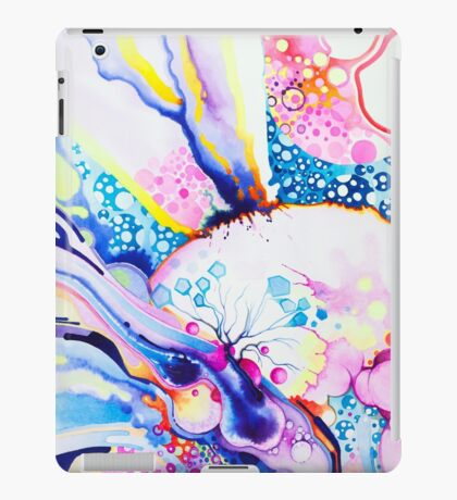Infinite Flare - Watercolor Painting iPad Case/Skin