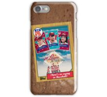 League of Their Own Movie Poster Card iPhone Case/Skin