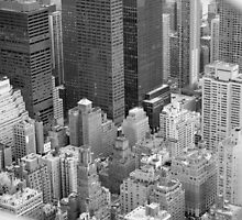 New York Skyscrapers by wannabewriter81