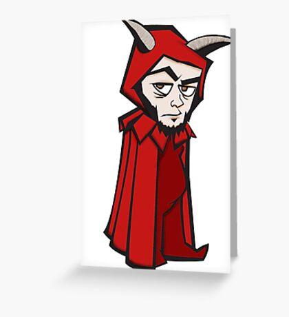 Evil Omar Greeting Card