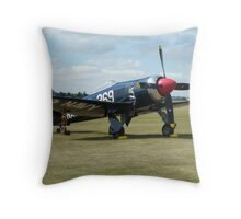 Hawker Sea Fury FB 11 Throw Pillow