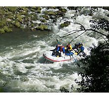 Rafting the Rouge Photographic Print