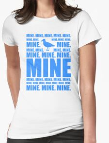 Mine in blue Womens Fitted T-Shirt