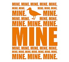 Mine in orange Photographic Print