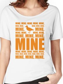 Mine in orange Women's Relaxed Fit T-Shirt