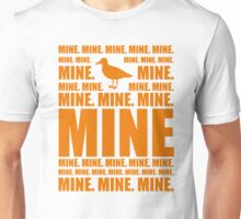 Mine in orange Unisex T-Shirt