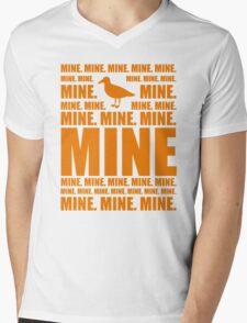 Mine in orange Mens V-Neck T-Shirt