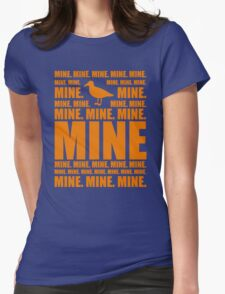 Mine in orange Womens Fitted T-Shirt
