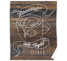 Moonlight All-Nite Diner Poster