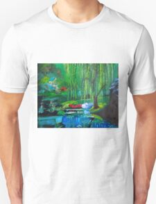Hidden Home on Monet's Pond T-Shirt