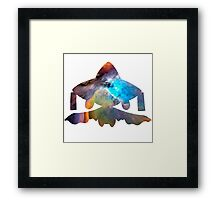 Jirachi used cosmic power Framed Print