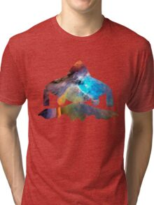 Jirachi used cosmic power Tri-blend T-Shirt