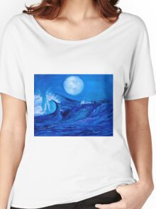 Moonlit Wave Women's Relaxed Fit T-Shirt