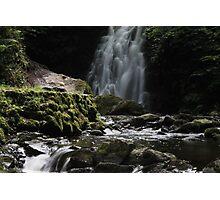 Gleno falls Photographic Print